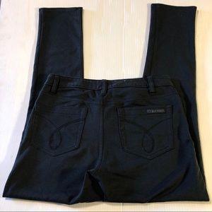 Calvin Klein Skinny Black Jegging Jeans, size 6
